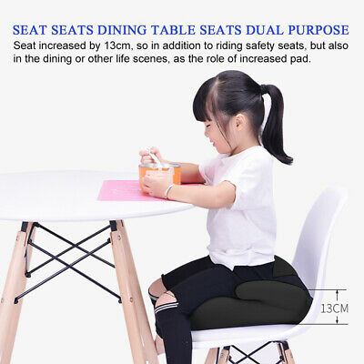 Car Booster Seat Chair Cushion Pad For Toddler Children Kids Sturdy 3-12 Years 11