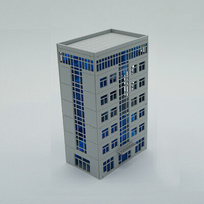 Outland Models Modelleisenbahn moderne Stadt 4-stöckigen Bürogebäude Spur N