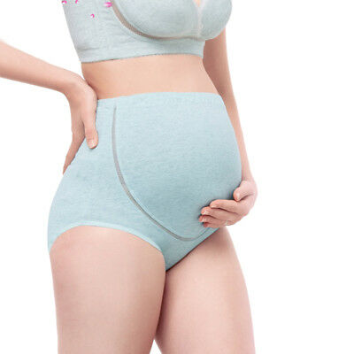 Pregnancy Maternity Underwear comfy Brief Panties Cotton Over Bump Support Tummy 2