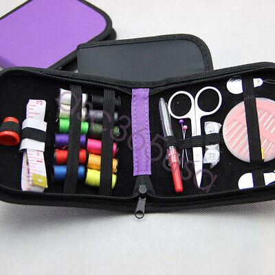 Sewing Kit Mini Travel Kit Scissor Thread Needles Beginner Sew Tools Repair New 7