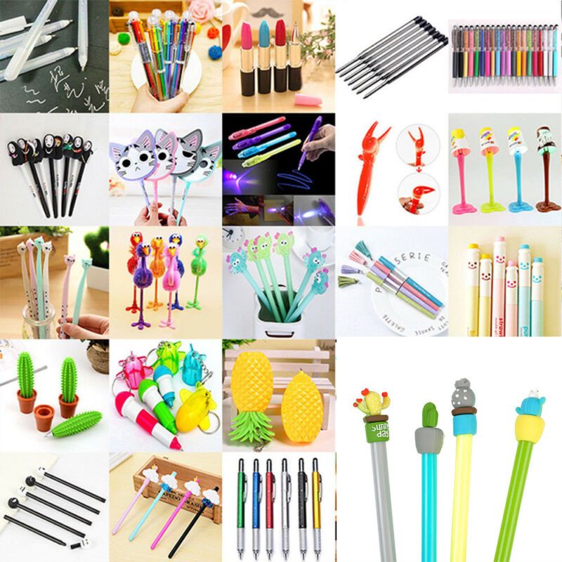 Lots 26 Styles Ballpoint Ink Pen Pencil Stationary Student Writing Tool School