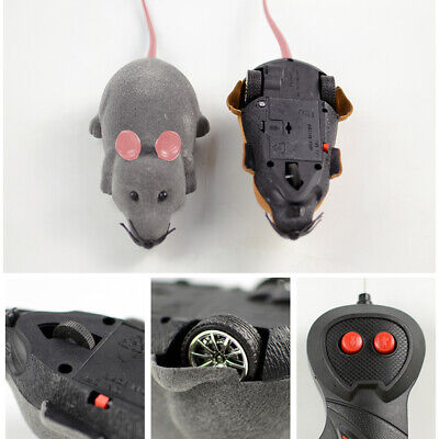 Pet Cat Dog Remote Control Toy Fake Mice Mouse Prank Rat Mock Training Gifts 4