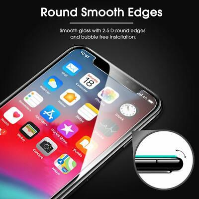 3-Pack For iPhone 11 Pro 8 7 6s Plus X Xs Max XR Tempered GLASS Screen Protector 3