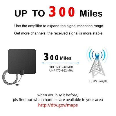 980 Mile Range Antenna TV Digital HD Skywire 4K Antena HDTV 1080P Amplifier Fox 4