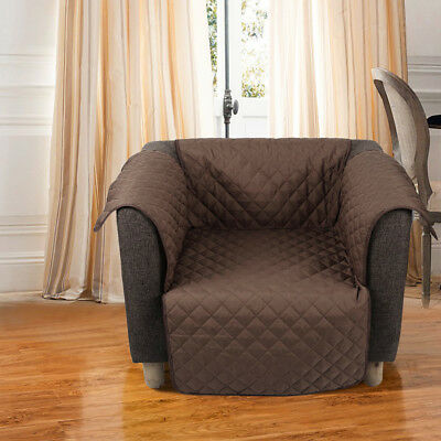Waterproof Quilted Sofa Couch Cover Chair Pet Dog Kids Mat Furniture Protector 6