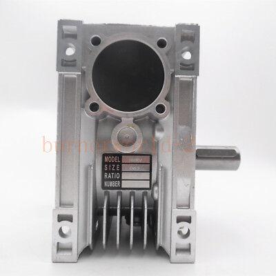 NMRV063 Worm Gear Speed Reducer NEMA52 Ratio 10 15 20 25 30 40 50 60 80 100:1 4