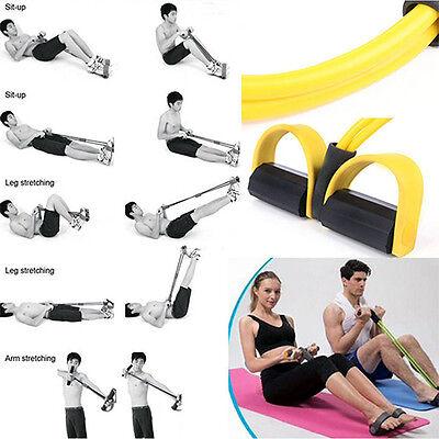 Attrezzo Elastico Pilates Fitness Pull X Esercizi Allena Braccia Gambe Spalle 2