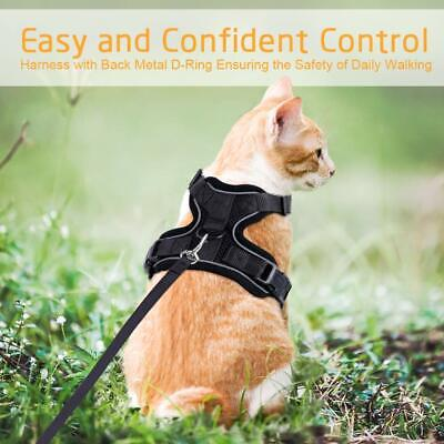 Rabbitgoo Cat Harness Reflective Walking Jacket Adjustable with 59 Inches Leash 8