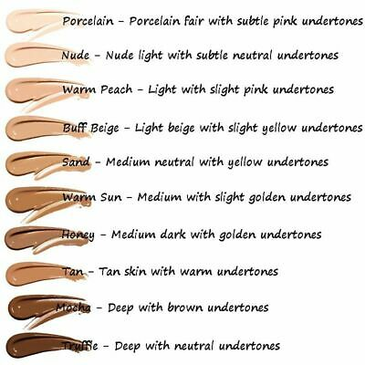 PHOERA Liquid Foundation Cosmetic Long lasting Concealer Make Up Full Coverage 4