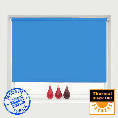 Mtm Made To Measure 100% Thermal Blackout Roller Blinds - Easy To Fit 6