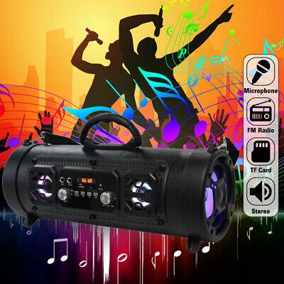 High Bass Ultra Loud Bluetooth Speakers Portable Wireless Speaker Outdoor/Indoor 12