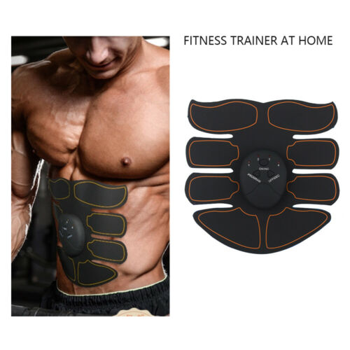 Ultimate EMS AB & Arms Muscle Simulator ABS Training Home Abdominal Trainer Set# 11