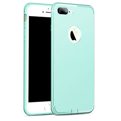 Coque TPU Ultra Slim Hybride iPhone 8/7/6/6S/PLUS/X/XR/XS/Max/5/SE+ Verre Trempé 9