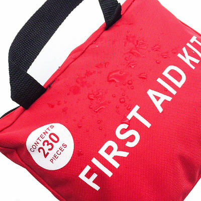 230 Pieces First Aid Kit-A Must Have for Every Family ARTG Registered 9