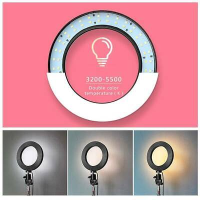 LED Studio Ring Light Photo Video Dimmable Lamp Light Tripod Selfie Camera Phone 2
