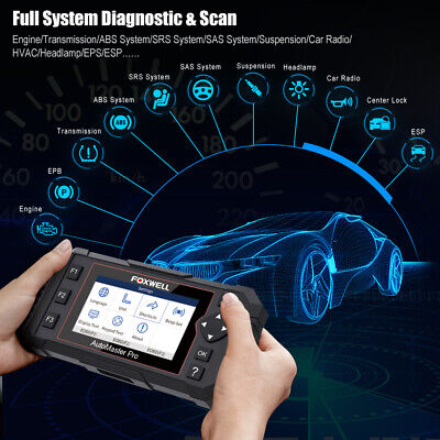Foxwell OBD2 Scanner Full System Auto Diagnostic Tool Oil EPB Reset Code Reader 2