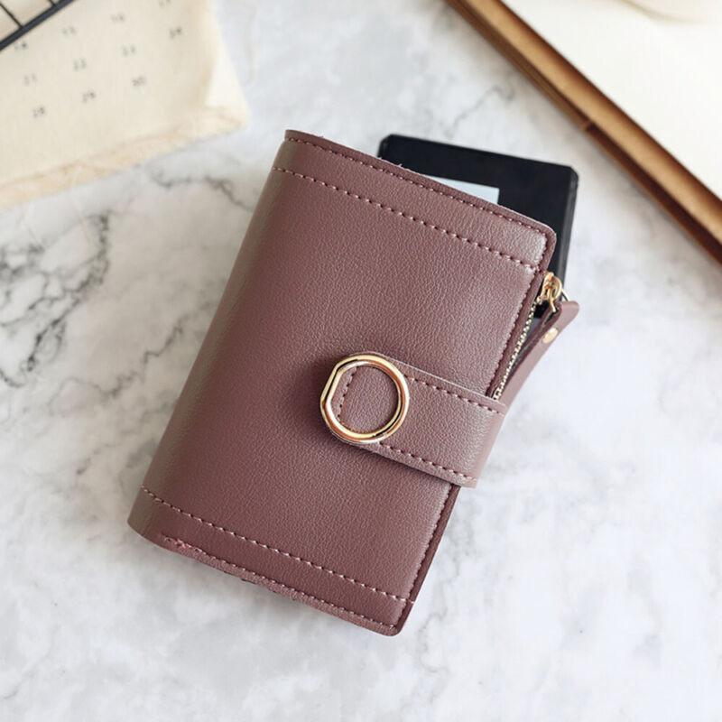 Fashion Women Ladies Leather Purse Money Clip Wallet Clutch Card Bag Holder Gift 8