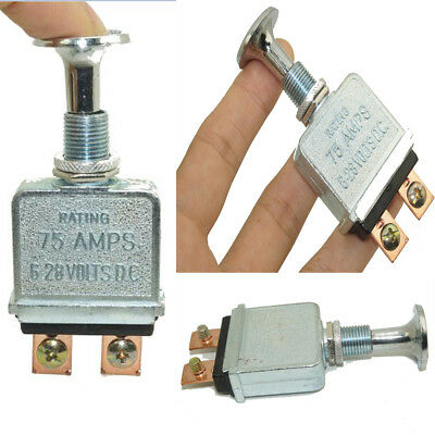 Kemparts LS2M Heavy Duty Brass Push-pull Switch