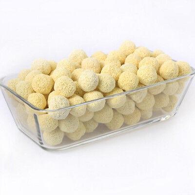 40Pc Aquarium Porous Ceramic Filter Media Net Bag Biological Ball Fish Tank US 5