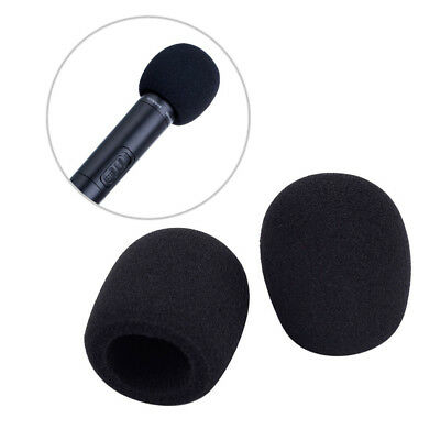 5pcs Microphone Windscreen Pop Filter Sponge Foam Wind Shield Mic Cover