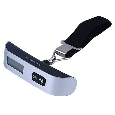 50kg/10g Portable Travel LCD Digital Hanging Luggage Scale Electronic Weight 4
