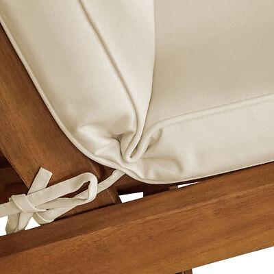 Detex® Coussin chaise longue 173 cm | Couleur au choix | Transat Bain de soleil 7