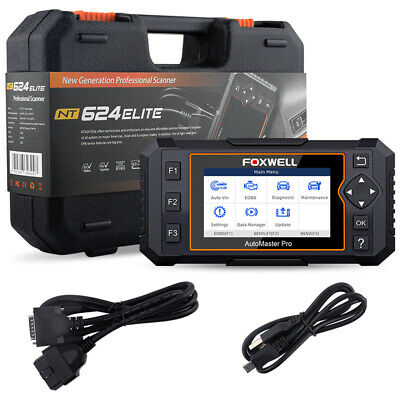 Foxwell OBD2 Scanner Full System Auto Diagnostic Tool Oil EPB Reset Code Reader 7