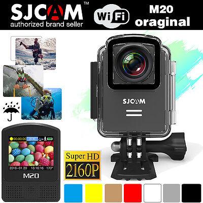 US Stock SJCAM M20 Mini Sports Camera Helmet 2160p 16MP WIFI 30M Waterproof DV