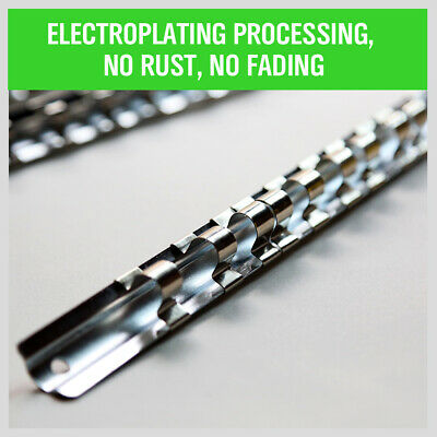 "3pc Socket Holder Rail | 1/4"" 3/8"" 1/2"" Rack Mount Steel Drawer Tray Organizer 4"
