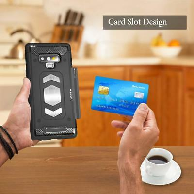 Body Armor Fits Samsung Galaxy Case Card Holder Slot for Magnetic car Mount 3