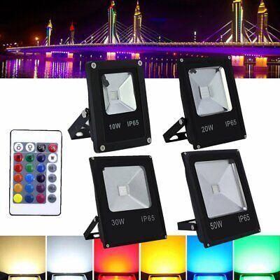 10W 20W 30W 50W LED RGB Projecteur Projecteur Spot Extérieur Projecteur IP65 SMD 2