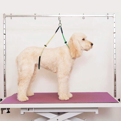 Haunch Holder Grooming Harness Noose System For Dogs Restraint No Sit Leash Loop 8