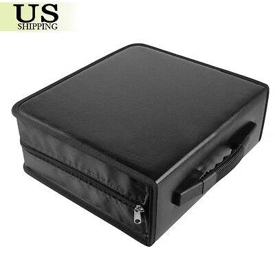 400 Disc CD DVD Organizer Holder Storage Case Bag Wallet Album Media Video Black 2