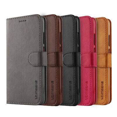 Samsung Galaxy S10 Plus 5G S10e S8 S9 Note8 9 10+ Wallet Case Leather Flip Cover 7