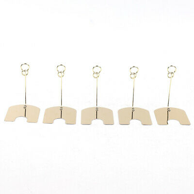 30PCS Metal Wire Card Clip Wedding Table Stand Note Memo Photo Holder Home Decor 5