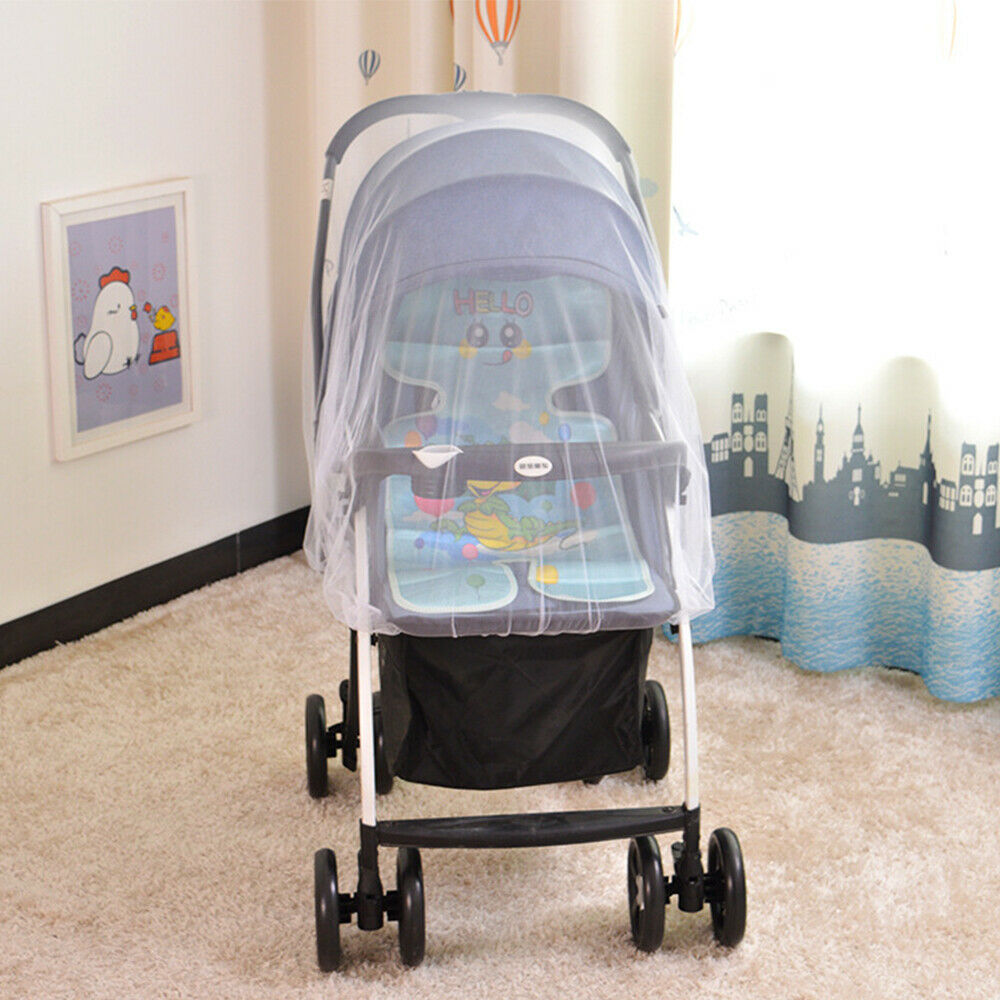 Anti Mosquito Fly Insect Net Mesh Buggy Cover For Stroller Pushchair Pram Hot 7