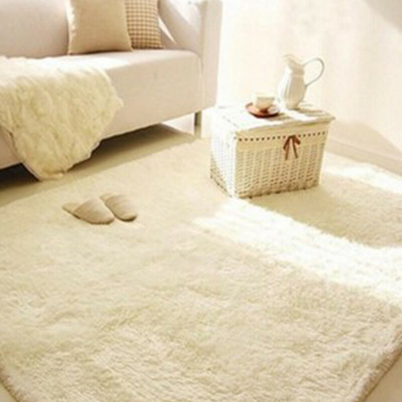 Fluffy Rugs Anti-Skids Shaggy Area Rug Dining Rooms CarpetFloor Mat HomeBedrooms 6