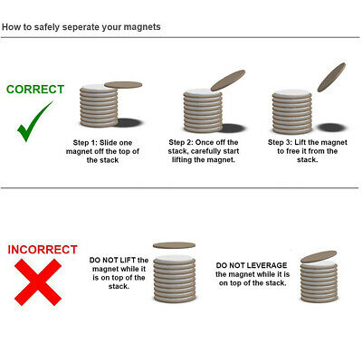 small & large N35 NEODYMIUM MAGNETS ~ 1mm, 2mm, 3mm Thick ~ Rings Cylinder Discs 2