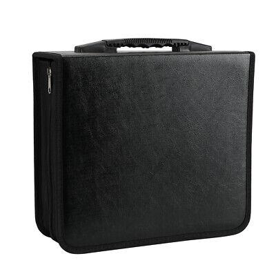 400 Discs Portable CDs DVD Wallet Holder Bag Album Organizer Media Case Storage 2