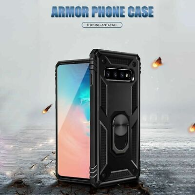For Samsung Galaxy A70  A71 Ring Holder Case Heavy Duty Cover Screen Protector 11