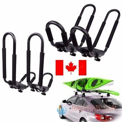 Universal Car SUV VAN Top J-Bar Mount Canoe Kayak  Rack Carrier Roof Rack 2