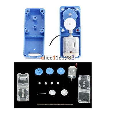 1PCS 130 DC1.5-6V 1:94 Geared motor //w Box shell Case for DIY smart Robot Car S