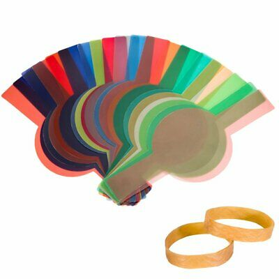 20PCS Color Filters For Godox V1 TTL Round Head Portable Flash Speedlite 7