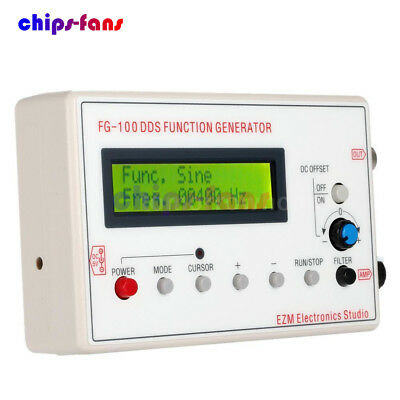 DDS Function Signal Generator Sine+Triangle + Square Wave Frequency 1HZ-500KHz 6