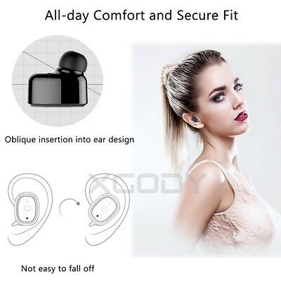 Mini Wireless Bluetooth Earbuds Waterproof Twins Headset Stereo In-Ear Earphone
