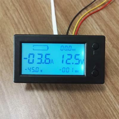 Battery Monitor Current Sensor 6in1 DC 300V 200A VOLT AMP Power Capacity AH SOC