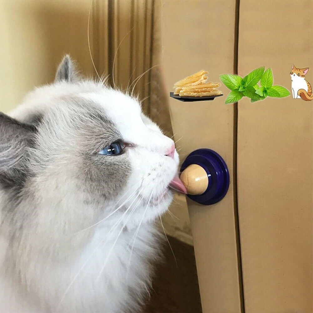 1pc Healthy Cat Snacks Sugar Candy Licking Solid Nutrition Energy Ball Toys Good 5