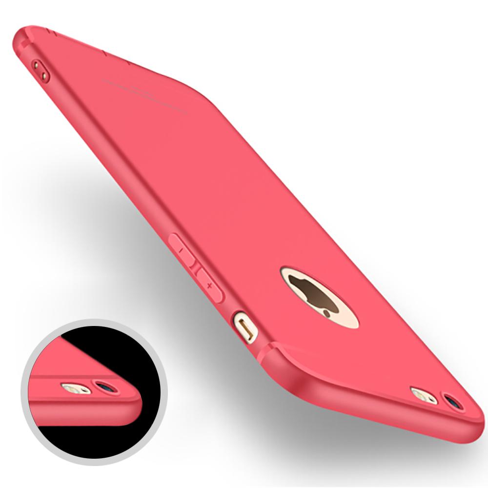 Antichoc amorti coque case protection mat iPhone 6s 7 8 Plus X XR XS Max 11 Pro 9