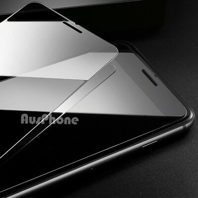 2x iPhone 8 Plus 7 Anti Scratch Resist Tempered Glass Screen Protector for Apple 6
