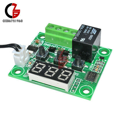 -50-110°C Red W1209 Digital thermostat Temperature Control Switch 12V + Sensor 6